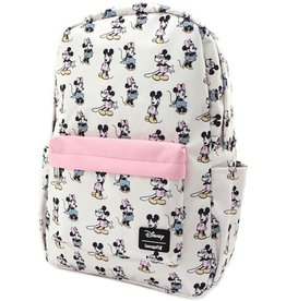 LOUNGEFLY Loungefly Pastel Minnie Mickey Nylon Backpack