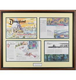 DISNEY 1959 Disneyland Insert