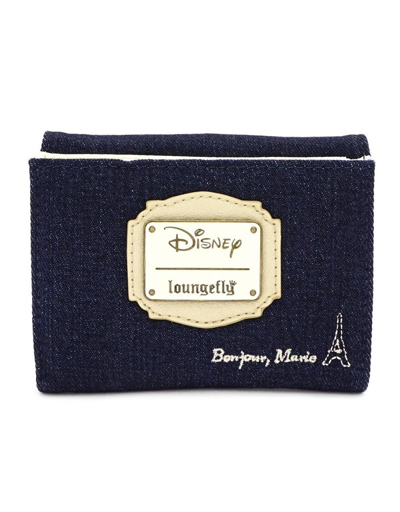 LOUNGEFLY Loungefly Marie Denim Wallet