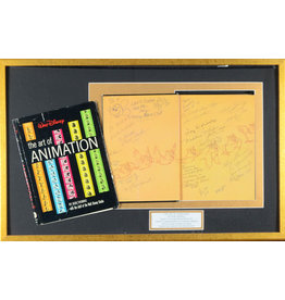 DISNEY The Art of Animation Book - Signed