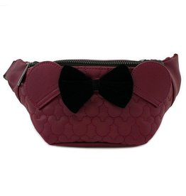 DISNEY Loungefly Minnie Quilted Fanny Pack