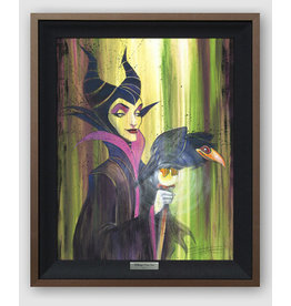 DISNEY Maleficent The Wicked-Silver Limited