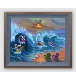 DISNEY Surfing With Friends-Silver Limited