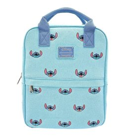 DISNEY Loungefly Stitch Canvas Backpack