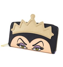 DISNEY Loungefly Evil Queen Face Wallet