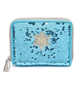 DISNEY Loungefly Elsa Sequin Wallet
