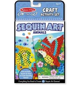 Sequin Art Animals