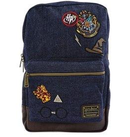 Loungefly Harry Potter Denim Backpack