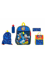 DISNEY MIckey Mouse 5-pc Backpack Set
