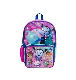 DISNEY Vampirina Backpack With Lunchbox
