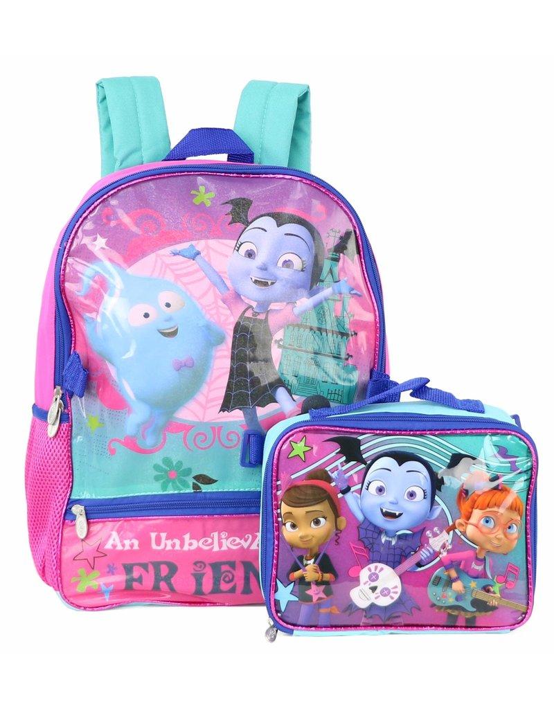 DISNEY Vampirina Backpack With Lunchbox