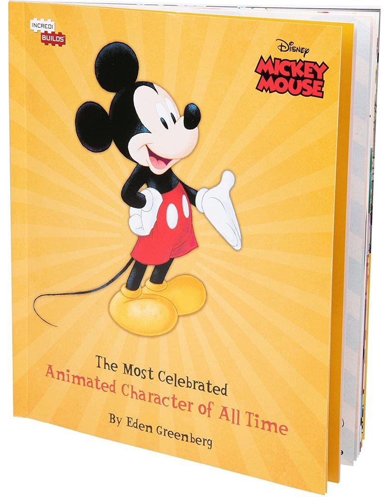 DISNEY Mickey Mouse 3D Wood Model