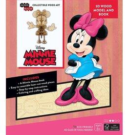 DISNEY Minnie Mouse 3D Wood Model