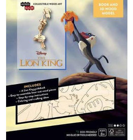 DISNEY Lion King 3D Wood Model