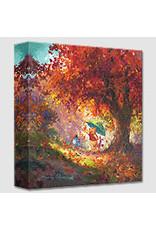 DISNEY Autumn Leaves Gently Falling -  Disney Treasure On Canvas