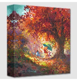 DISNEY Autumn Leaves Gently Falling -  Disney Treasure On Canvas