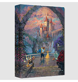 DISNEY Beast and Belle Forever -  Disney Treasure On Canvas