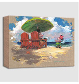 DISNEY Shorefront Hula -  Disney Treasure On Canvas