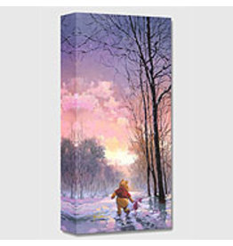 DISNEY Snowy Path -  Disney Treasure On Canvas