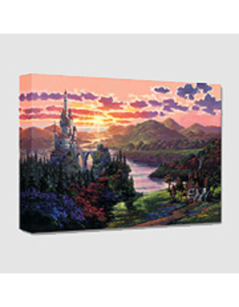 DISNEY The Beauty in The Beast's Castle -  Disney Treasure On Canvas