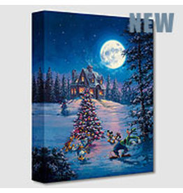 DISNEY Winter Lights -  Disney Treasure On Canvas