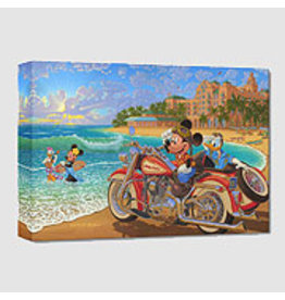 DISNEY Where The Road Meets The Sea -  Disney Treasure On Canvas