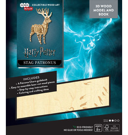 Harry Potter Stag Patronus Wood Model
