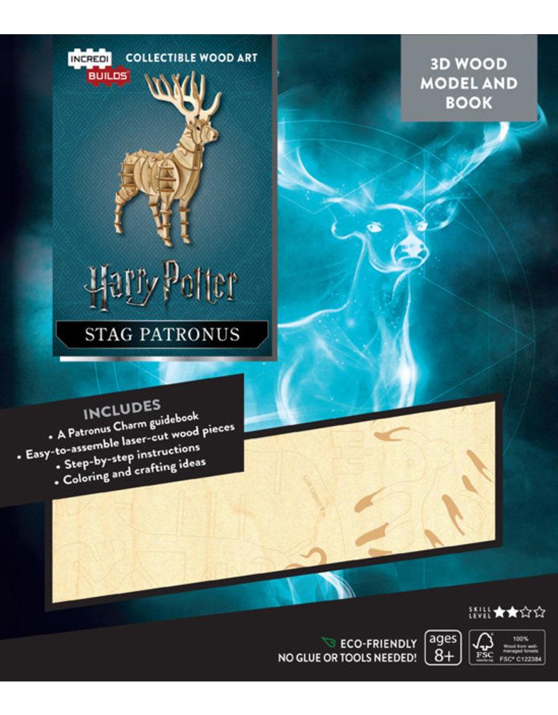 Harry Potter Stag Patronus Wood Model