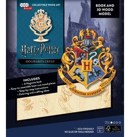 Harry Potter Hogwarts Crest Wood Model
