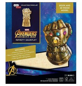 MARVEL COMICS Avengers Infinity Gauntlet Wood Model
