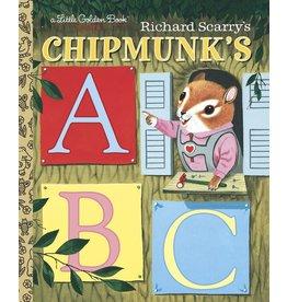 Little Golden Book: Chipmunk's ABC