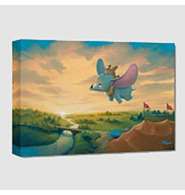 Flight over The Big Top -  Disney Treasure On Canvas