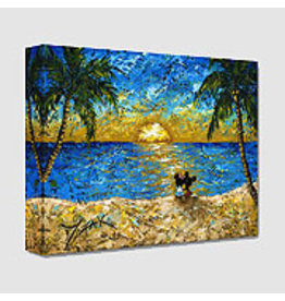 DISNEY Sunset For Minnie and Me -  Disney Treasure On Canvas