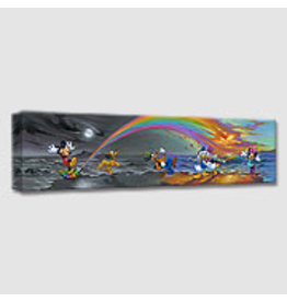 DISNEY Mickey Makes Our Day -  Disney Treasure On Canvas