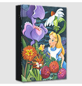 DISNEY A Conversation With Flowers -  Disney Treasure On Canvas