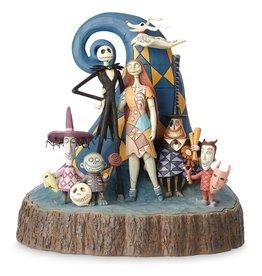 NIGHTMARE BEFORE CHRISTMAS Tim Burton's Nightmare Before Christmas 25th Anniversary Figure Jim Shore
