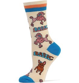 Basic Bi*ch - Women's Crew Socks