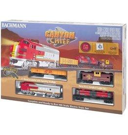 Bachmann Canyon Chief Train HO Set