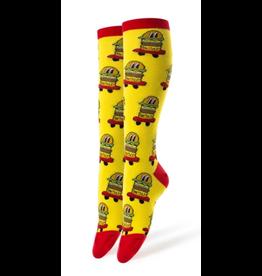 Burgers On Wheels - Women's Crew Socks