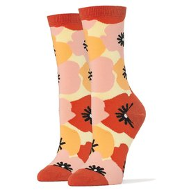 Flower Power - Women's Crew Socks