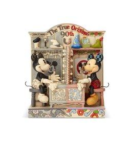 DISNEY Jim Shore Disney Traditions Mickey 90th Anniversary True Original
