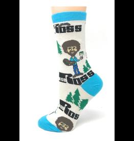 Always Bob Ross - Men's Crew Socks