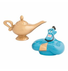 DISNEY Aladdin Genie & Lamp Salt and Pepper Shaker