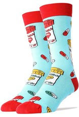 Chill Pill - Men's Crew Socks