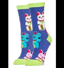 Good Luck Cat - Men's Crew Socks