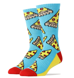 Pizza Party - Men's Crew Socks