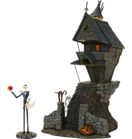 NIGHTMARE BEFORE CHRISTMAS Department 56 Nightmare Before Christmas Jack Skellington House