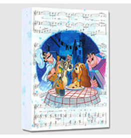 DISNEY Bella Notte (Rogerson) -  Disney Treasure On Canvas