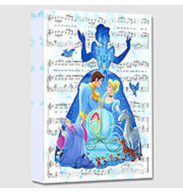 DISNEY Bibbidi Bobbidi Boo -  Disney Treasure On Canvas