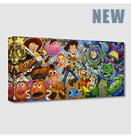 DISNEY Cast of Toys -  Disney Treasure On Canvas